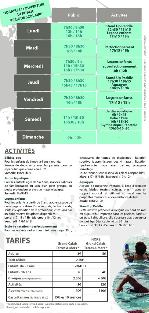 La Piscine Ranson  Grand Calais Terres  Mers