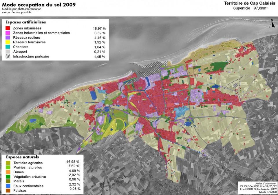 Environnement Et Occupation Des Sols  Grand Calais Terres  Mers