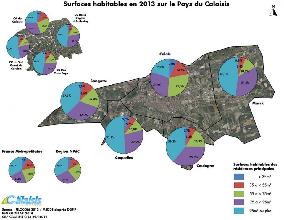 Habitat Et Zonage  Grand Calais Terres  Mers