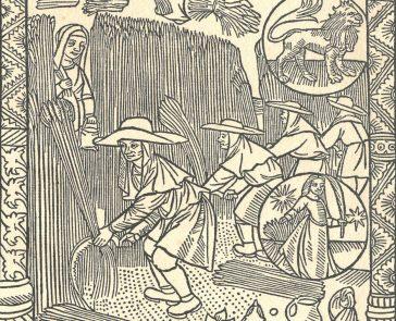 La campagne au Moyen Age