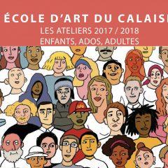 Découvrez le livret 2017/2018 de l'école d'art