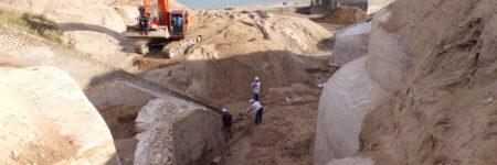 L'étude du fort Risban confirme la présence de vestiges