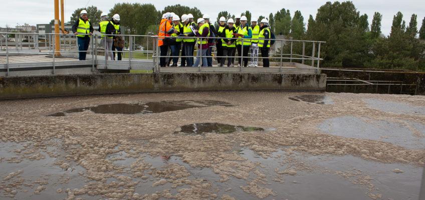 Station d'épuration : l'eau se ressource