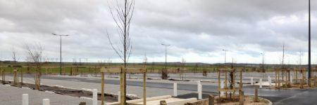 Un nouveau parking à la gare de Calais Fréthun