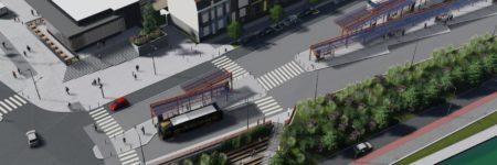 Début des travaux du futur Pôle d'Echanges Multimodal